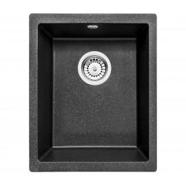 38cm x 46cm Unterbau Spüle graphit metallic Corda Deante GranitGranit -19%