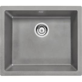 55cm x 46cm Unterbau Spüle grau metallic Corda Deante GranitGranit -19%