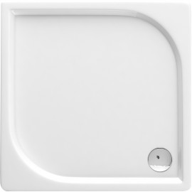 90cm Duschwanne quadrat Cubic Deante Duschkabinen/ -wannenDuschkabinen/ -wannen
