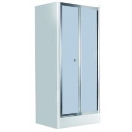 80cmx185cm Falttüren für die Nische reifglas Flex Deante Duschkabinen/ -wannen