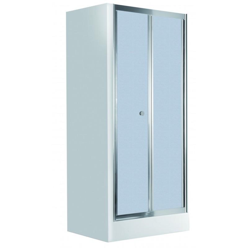 80cmx185cm Falttüren für die Nische reifglas Flex Deante Duschkabinen DuschwannenDuschkabinen Duschwannen