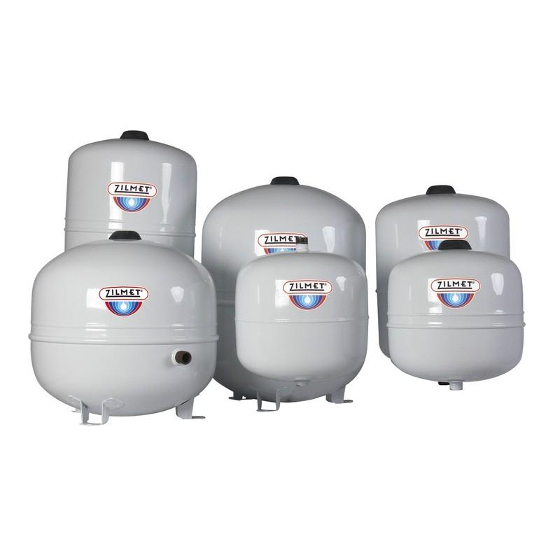 18L bis 80L Zilflex Solar Plus Ausdehnungsefäße für Solaranlagen Zilmet Zilmet HeizungHeizung
