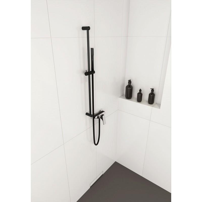 Duschset schwarz Karbo Deante Duschstangen + SetsDuschstangen + Sets
