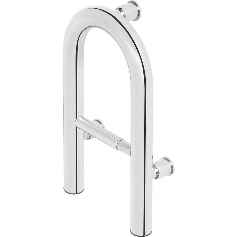 Wandmontierter Haltegriff aus Stahl mit Platz für Toilettenpapier Vital Deante ZubehörZubehör -18%