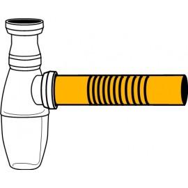 300mm Ablaufrohr flexibel für Flaschen-Siphon Haas Siphon und Zubehör
