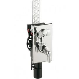 DN40/50 Unterputz-Geräte Siphon senkrecht Haas Siphon und ZubehörSiphon und Zubehör