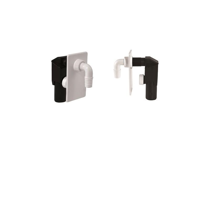Unterputz-Geräte-Siphon DN40 ASW Siphon und ZubehörSiphon und Zubehör