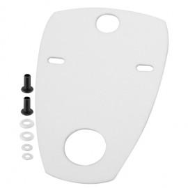 Schallschutz für Urinale 380 x 630mm Haas Sanitär