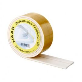 3,3m Schallschutzband für Duschen und Badewannen Haas Sanitär