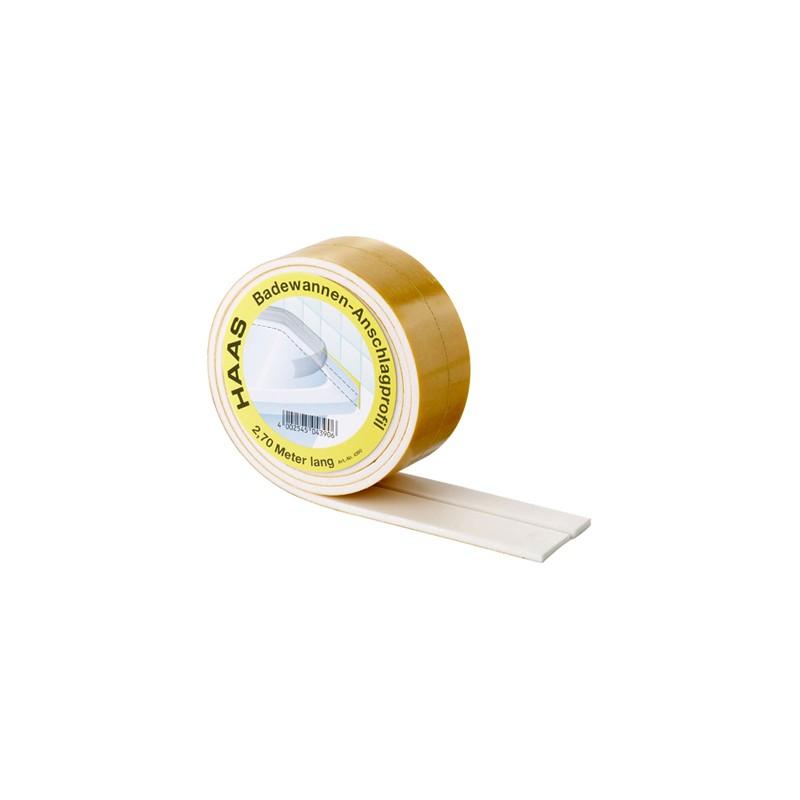 2,7m Schallschutzband für Duschen und Badewannen Haas SanitärSanitär