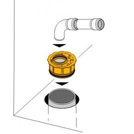 DN110/50 HT-Abwasserrohr-Innenreduzierung Haas SanitärSanitär