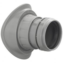 DN110/40 Abwasser Schraubabzweig Easy-Fix Haas Sanitär