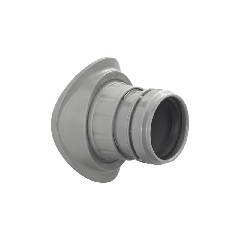DN110/40 Abwasser Schraubabzweig Easy-Fix Haas SanitärSanitär
