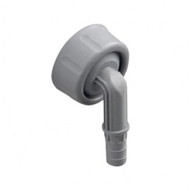 OHA-Winkel-Kondensatanschluss mit Mutter und Dichtung Haas Sanitär