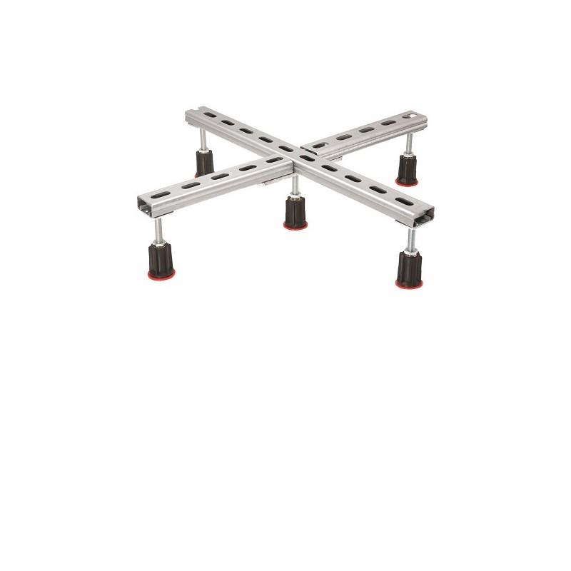 Duschwannenfusse Universal Stahl Verzinkt Lange 530mm