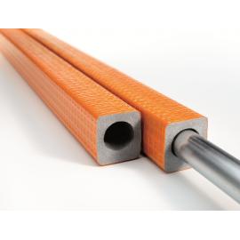 9mm Isolierstärke 1m Stangen PE Rohrisolierung Exzentroflex Compakt 50% EnEV NMC Deutschland Rohrisolierung