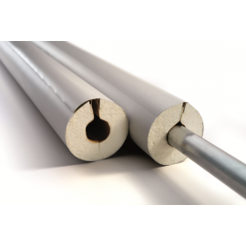 IsoTube 040 1m Stangen 50% EnEV Rohrisolierung PU mit PVC Ummantelung und selbstklebendem Verschlusssystem NMC Deutschland IS...