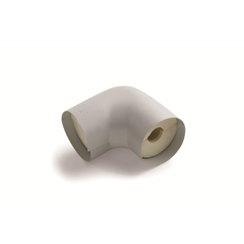 Isotube 040 Universalbögen PU Rohrisolierung NMC Deutschland Rohrisolierung PU Schaum mit PVC Ummantelung