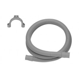 Waschmaschinenablaufschlauch flexibel beidseitig mit Muffe ASW Schläuche und ZubehörSchläuche und Zubehör