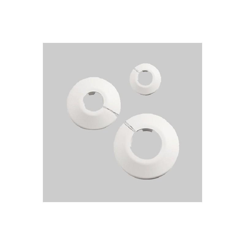 50 Stück Heizkörper-Klapprosetten weiß 15mm Haas HeizungHeizung -15%
