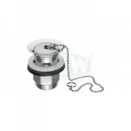 """Design- Schaftventil 11/4"""" x 63mm verschließbar ASW Ablaufgarnitur, Push up"""