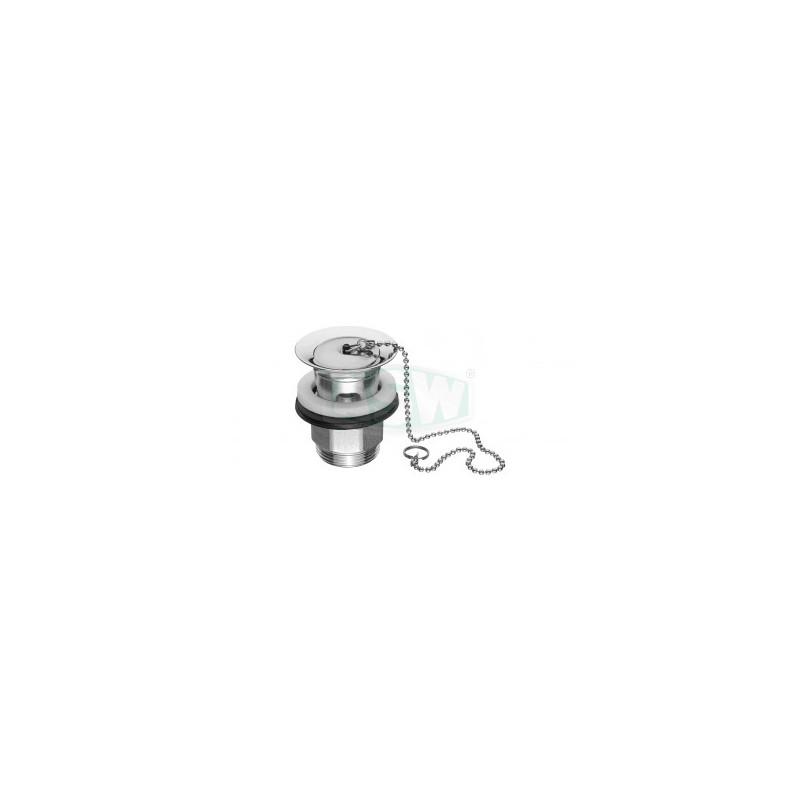 """Design- Schaftventil 11/4"""" x 63mm verschließbar ASW Ablaufgarnitur, Push upAblaufgarnitur, Push up"""