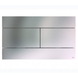 Betätigungsplatte chrom matt Oli Unterputz-Spülkästen ElementeUnterputz-Spülkästen Elemente