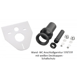 Wand-WC Anschlußgarnitur 110/110mm mit Schallschutz Haas Startseite