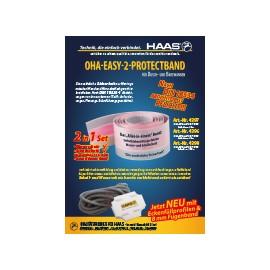 OHA-Easy-2-Protectband für Dusche und Badewanne Haas Schallschutz/Abdichtungen