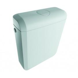 Onix Plus Aufputz- Aufsatzspülkasten breit 340mm hoch 415mm Tief 137mm, Zweimengenspülung 6/3l Oli Aufputz- Spülkasten und Zu...