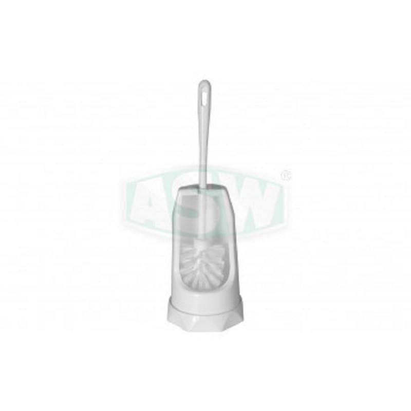 Toilettenbürstengarnitur Kunststoff weiß Serie: 1000 ASW Toiletten- Papierhalter + BürstenToiletten- Papierhalter + Bürsten -10%