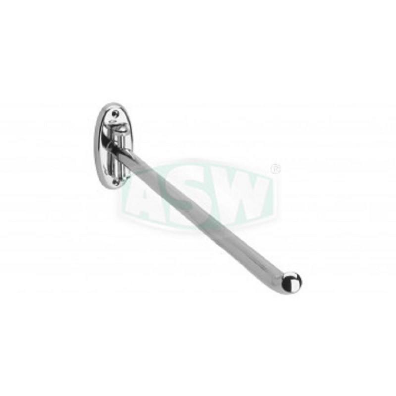 1-tlg. Handtuchhalter Messing verchromt ASW Hand + Badetuchhalter + HakenHand + Badetuchhalter + Haken -10%