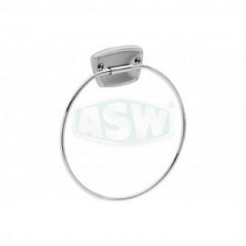 Handtuchring 6 mm messing verchromt ASW Hand + Badetuchhalter + Haken