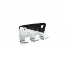 Hakenleisten messing verchromt verschiedene Ausführungen Serie: 1000 ASW Hand + Badetuchhalter + HakenHand + Badetuchhalter +...