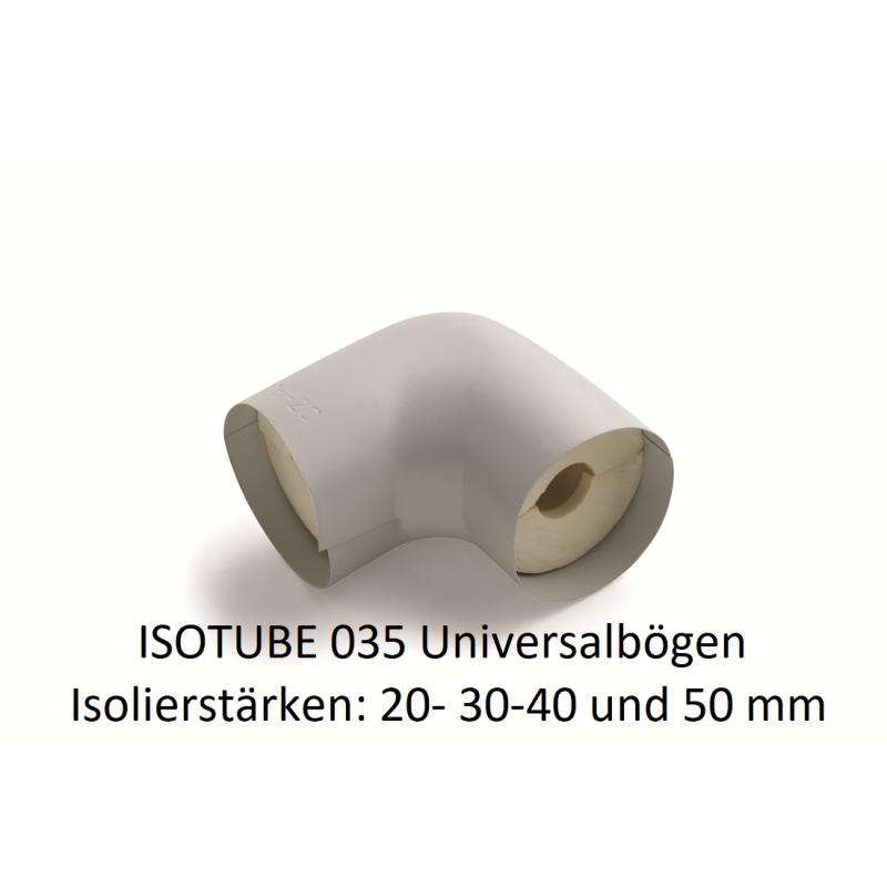 Isotube 035 Universalbögen für Rohrisolierung PU NMC Deutschland ISOTUBE Bögen 035/040ISOTUBE Bögen 035/040 -10%