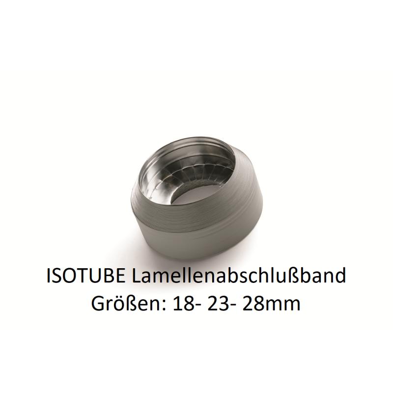 ISOTUBE Lamellenabschlußband 20/ 25/ 30, 10m Rolle für Rohrisolierung PU NMC Deutschland Zubehör IsotubeZubehör Isotube -10%
