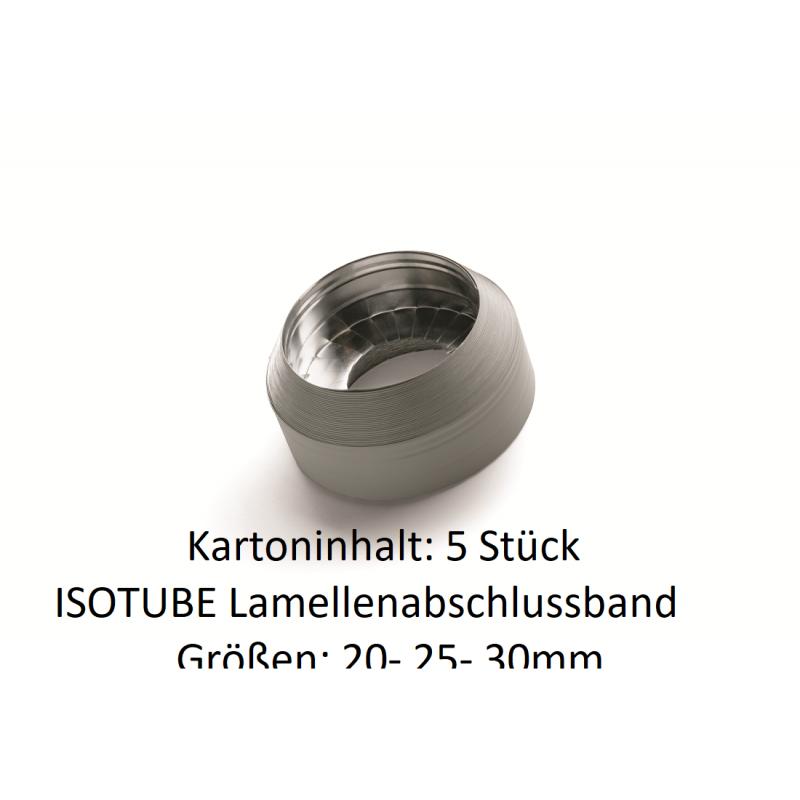 ISOTUBE Lamellenabschlußband 10m Rolle 5 Stück im Karton für Rohrisolierung PU NMC Deutschland Zubehör ISOTUBE 035/040Zubehör...