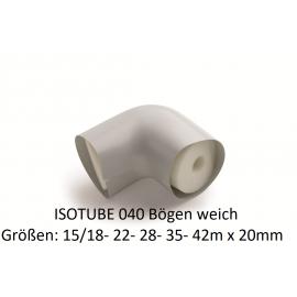 ISOTUBE 040 Bögen weich von 15/18 bis 42 x 20mm NMC Deutschland ISOTUBE Bögen 035/040ISOTUBE Bögen 035/040 -19%