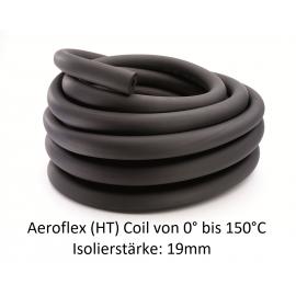 Aeroflex HT Coil Isolierstärke 19mm temperaturbeständigem EPDM Kautschuk endlos NMC Deutschland Solaranlagen RohrisolierungSo...