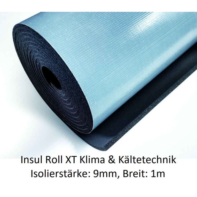 Insul Roll XT Isoliermatte 1m breit Isolierstärke 9 mm selbstklebend NMC Deutschland Insul Roll XTInsul Roll XT -10%