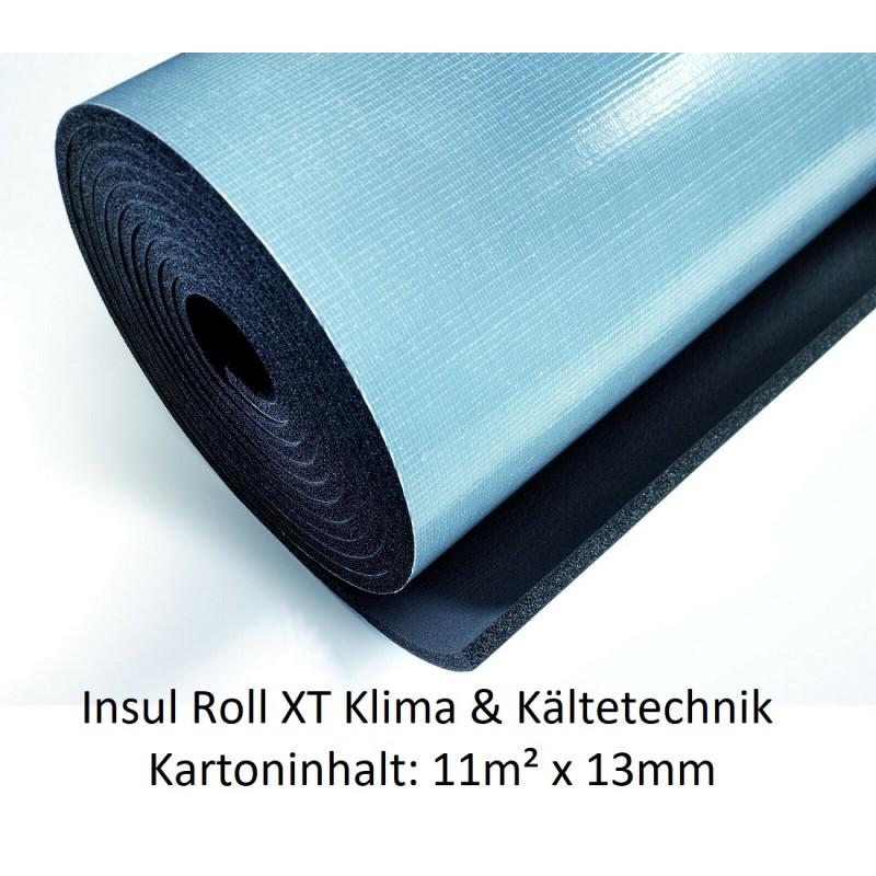 Insul Roll XT Isoliermatte 1m breit Isolierstärke 13 mm Kartoninhalt: 11m² selbstklebend NMC Deutschland Insul Roll XTInsul R...