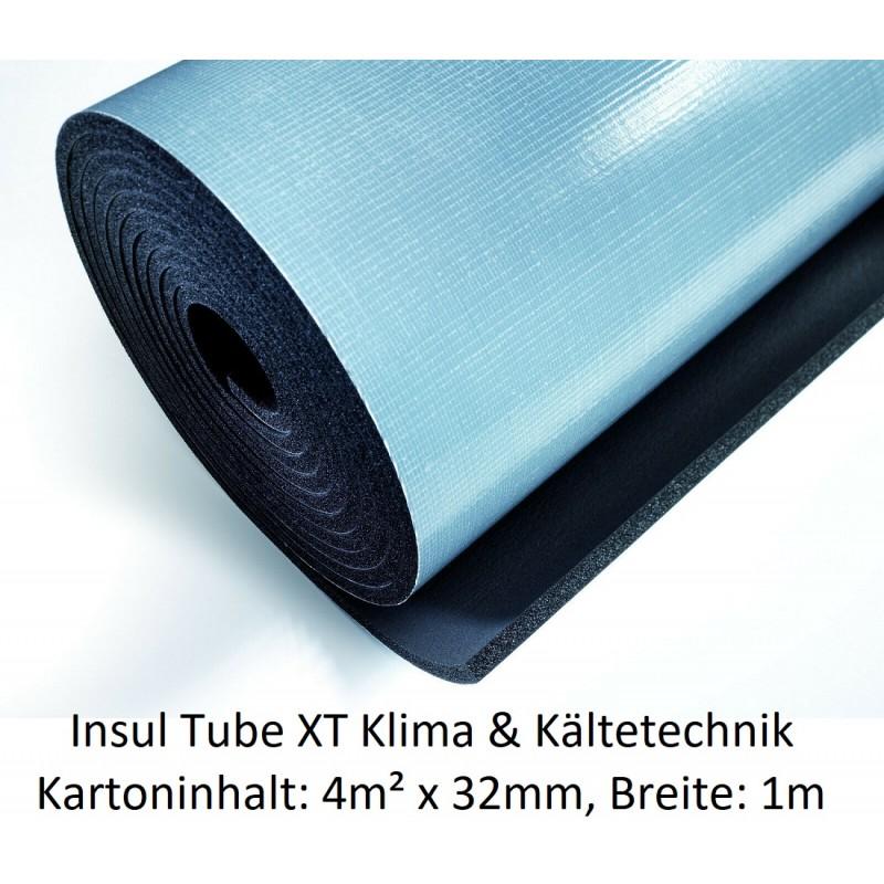 NMC Insul Roll XT Isoliermatte 1m breit Isolierstärke 32 mm Kartoninhalt: 4m² selbstklebend NMC Deutschland Insul Roll XTInsu...