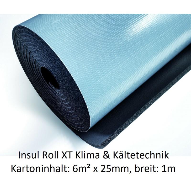 NMC Insul Roll XT Isoliermatte 1m breit Isolierstärke 25 mm Kartoninhalt: 4m² selbstklebend NMC Deutschland Insul Roll XTInsu...