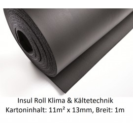 NMC Insul Roll Isoliermatte 1m breit Isolierstärke 13mm Kartoninhalt: 11m² NMC Deutschland Insul RollInsul Roll -10%