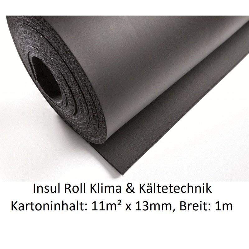 NMC Insul Roll Isoliermatte 1m breit Isolierstärke 13mm Kartoninhalt: 11m² NMC Deutschland Insul RollInsul Roll -19%