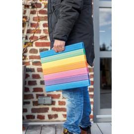 Comfy Pad Mehrzweckkissen Regenbogenfarben 300x350x30mm NMC Deutschland Schwimmnudel & ZubehörSchwimmnudel & Zubehör -10%