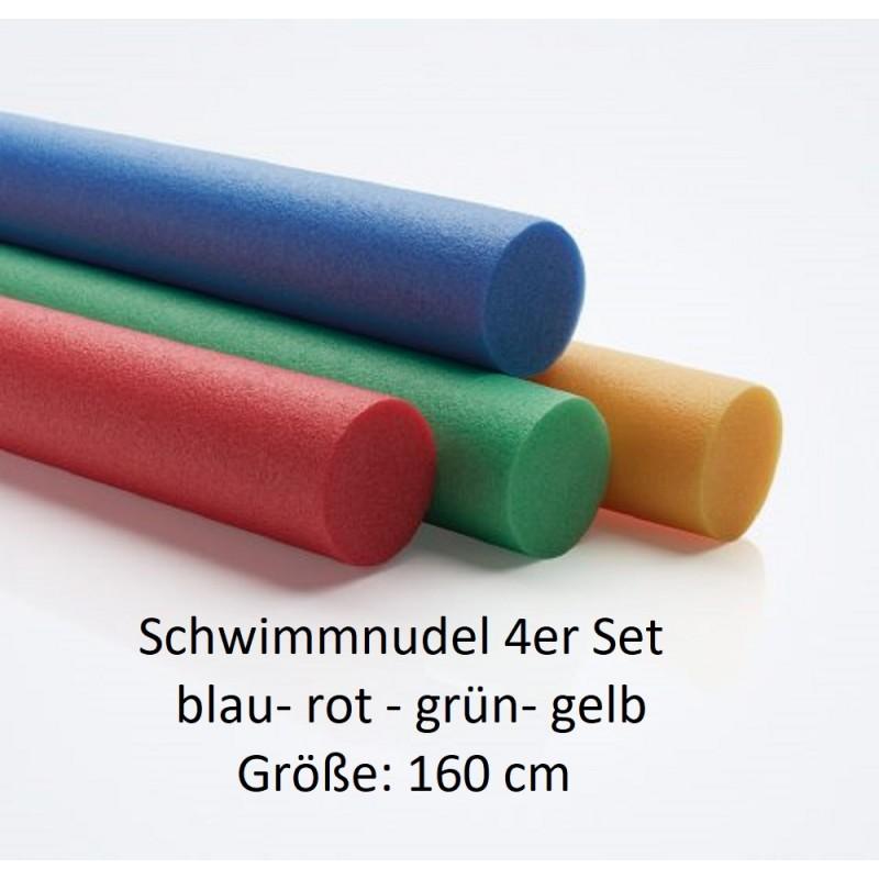 Comfy Schwimmnudel 160 cm 4er Set rot- blau- gelb- grün NMC Deutschland Schwimmnudel & ZubehörSchwimmnudel & Zubehör -10%
