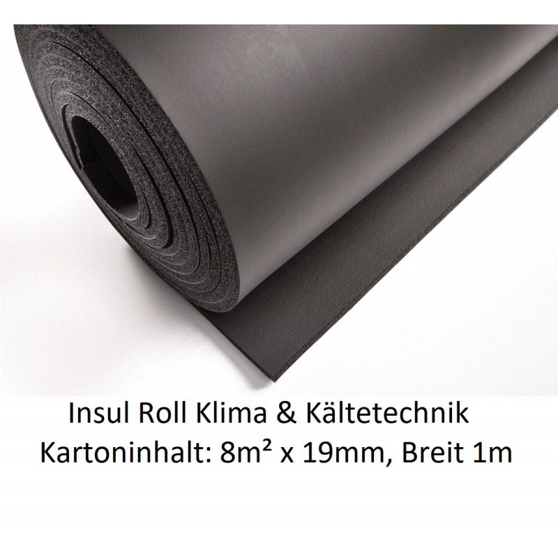 NMC Insul Roll Isoliermatte 1m breit Isolierstärke 19mm Kartoninhalt: 8m² NMC Deutschland Insul RollInsul Roll -19%