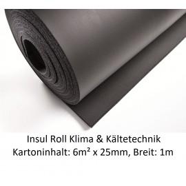 NMC Insul Roll Isoliermatte 1m breit Isolierstärke 25mm Kartoninhalt: 6m² NMC Deutschland Insul RollInsul Roll -10%