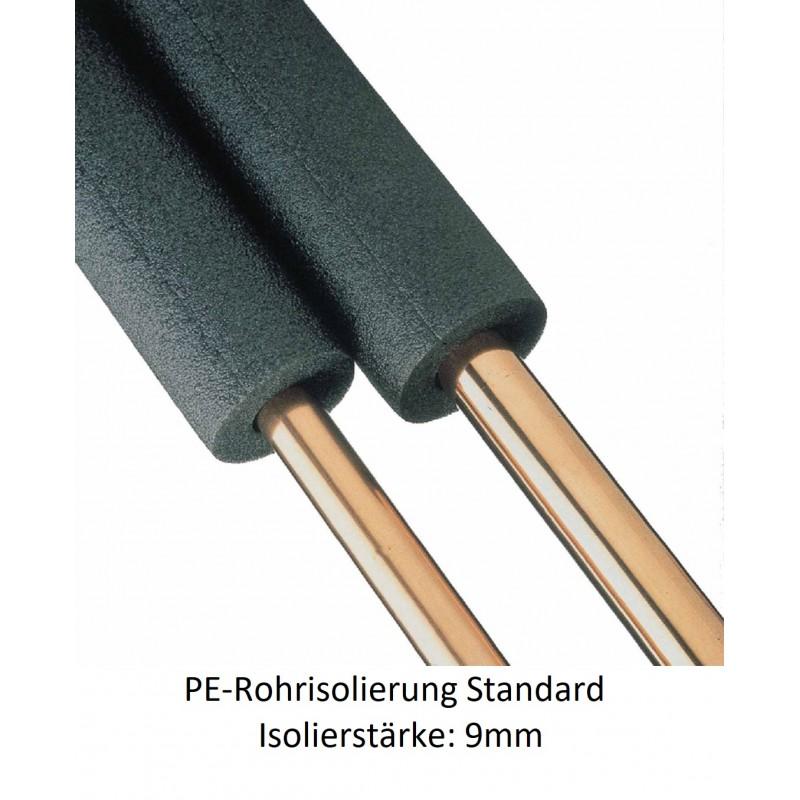 PE-Rohrisolierung 9mm Isolierstärke 1m Stangen NMC Deutschland PE Rohrisolierung standardPE Rohrisolierung standard -10%